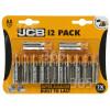 JCB AA Alkali Batterien (12er Pack)