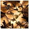 The Christmas Workshop 100 Clear Fairy Lights Set - UK Plug