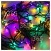 The Christmas Workshop Lichtdeko Mit Zeitschaltuhr, 100 LEDs, Batteriebetrieben, Mehrfarbig