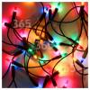 The Christmas Workshop 100 Multi-Colour Fairy Lights Set - UK Plug