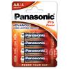 Panasonic AA Pro Power Alkali-Batterien