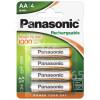 Panasonic AA Aufladbare Batterien
