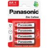 Panasonic AA Zink-Kohle Batterien