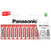 Panasonic AA Zink-Kohle-Batterien (10er Packung)