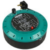 Lyvia 10M 4-Socket Extension Cable Reel - UK Plug