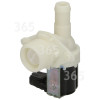 Whirlpool Cold Water Single Inlet Solenoid Valve : 90Deg. With Protected (push) Connector & Large Bore Outlet