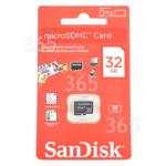 Originale Sandisk Scheda Di Memoria Micro 32GB