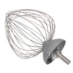D'origine Kenwood Fouet Ballon Major En Aluminium - 12 Câbles - Nouvel Axe Avec Anneau De Sécurité