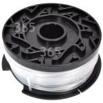 Originale Black & Decker Rocchetto E Filo Reflex® Del Tagliabordi - 10m. - Nero - Per GL430, GL545, GL550, GLC2000, GL560, GL570, GL580, GL540, GL340, GLC120, GL530
