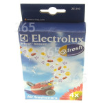 Genuine Electrolux ZE210 S-Fresh Blossom Air Freshener (Pack Of 4)