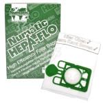 Original Numatic Bolsas De Aspiradora De 3 Capas De Filtrado Hepa-Flo NVM-1CH (Pack De 10)