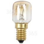Genuine Wpro 25W T25 SES (E14) 300º Pygmy Oven Lamp