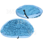 Alternative Manufacturer Steam Cleaner Microfibre Coral Pads (Pack Of 2)