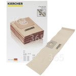 Original Karcher Bolsa De Aspiradora (Pack De 5)