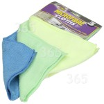 Genuine Ramon Microfibre Cloths (Pack Of 3)