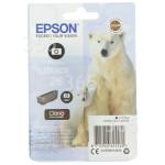 D'origine Epson Cartouche D'Encre T2611 D´Origine Photo Noir
