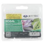 Original Jettec Wiederaufbereitete HP 363 Tintenpatrone Schwarz H364B (CB316EE)
