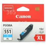 Original Canon Cartucho De Tinta Cian - 6444B001 Original CLI-551CXL Alta Capacidad