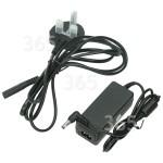 Alternative Manufacturer Replacement Makita Jobsite Radio Mains Adapter - UK Plug : Input 100v To 240v Output 12V 1Amp