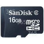 Genuine Sandisk 16GB Micro SD-HC High Capacity Memory Card