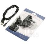 Pièce approuvée par 365PiecesDetachees Câble De Remplacement USB & Chargeur (Prise França