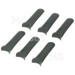 Genuine Flymo FLY014 Plastic Blades (Pack Of 6)