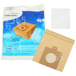 Genuine Electrolux E59 Powerlite Paper Bag (Pack Of 5)