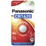 Original Panasonic CR1620 Lithium Knopfzelle