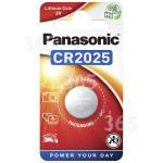 Original Panasonic CR2025 Lithium Knopfzelle