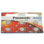 Original Panasonic CR2032 Lithium-Knopfzellen (Packet Aus 6)