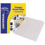 Alternative Manufacturer Universal Cooker Hood Grease Filter With Saturation Indicator ( 1140x470mm ) CUT TO SIZE