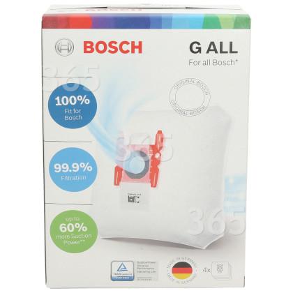 Bosch Synthetische Staubsaugerbeutel - Typ G (4er Pack)