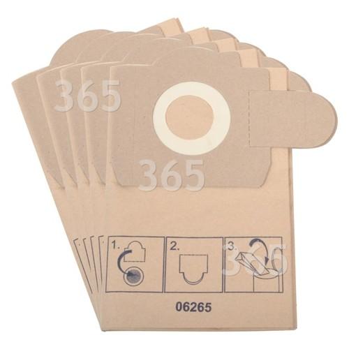 Bosch Neff Siemens Staubsauger-Papierfilterbeutel PAS11-21 PAS12-17 PAS12-27F