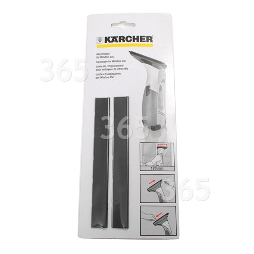 Bordes De Secado- 170 Mm (Pack De 2) Karcher