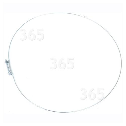 Samsung WF8604NGW Waschmaschinen-Türdichtungs-Spannring : Ø 400mm