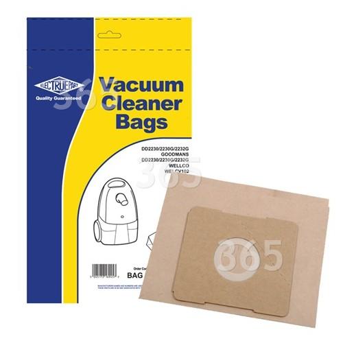 Goblin DV (35600765) Staubsaugerbeutel (5er-Packung) - BAG263