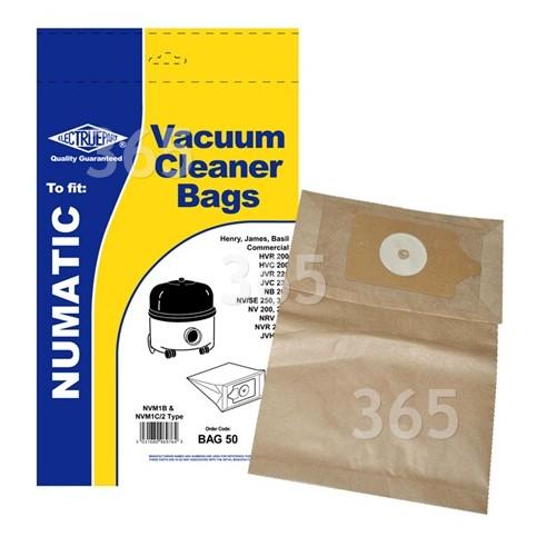 Kompatible NVM-1CH Staubsaugerbeutel (5er Packung) - BAG50