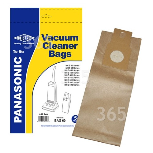 Compatible Panasonic Vacuum Cleaner Dust Bags  Pack of 5