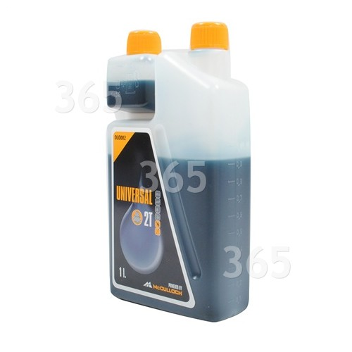 Universal Powered By McCulloch 2 Taktöl LS - 1 Liter OLO002