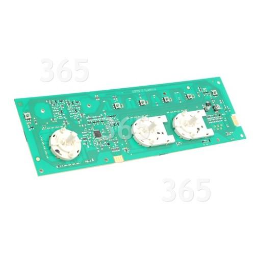 Carte Électronique Non Programmée De Lave-linge - Led 3 Boutons - Indesit