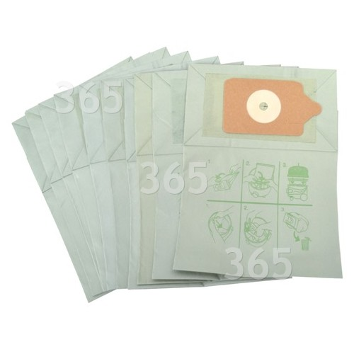 Compatible NVM-1CH Paper Dust Bag (Pack Of 10)