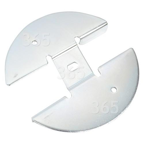 Bosch Qualcast Atco Suffolk Gartenhäcksler-Montageplatte