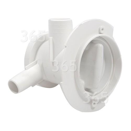 Boîtier Filtre De Pompe De Vidange Lave-linge ADORINA T160 Whirlpool