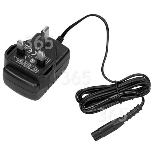 Chargeur De Batterie / Secteur Pour Nettoyeur De Vitres - Prise Anglaise - : Entrée 100V À 240V Sortie 5,5V