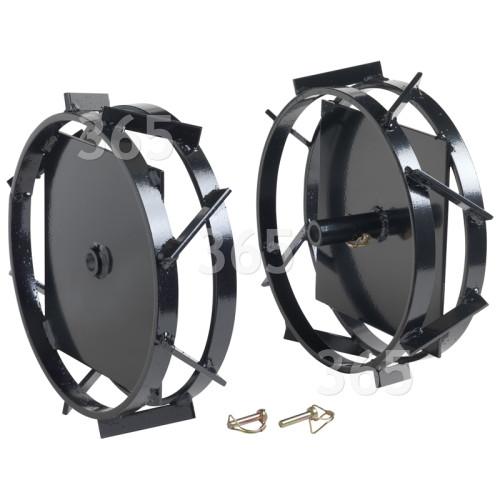 Erma TAO016 Kultivator-Antriebsräder (2er Packung)