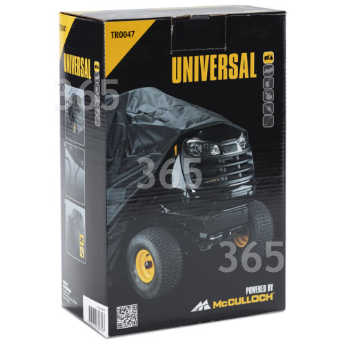 Bâche Pour Tracteur TRO047 Universal Powered By McCulloch