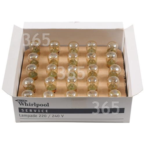 Ampoule Pygmée E14 (SES) T22 15W Indesit