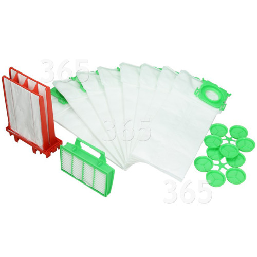 SEBO AIRBELT K SERVICE BOX BAGS AND FILTERS 6695ER GENUINE PART