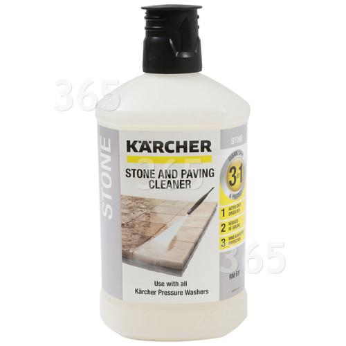 Nettoyeur Pierre Et Façades Plug'n'clean - 1 Litre - Pour Nettoyeur Haute Pression - Karcher