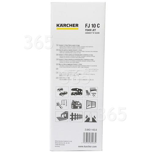 """Nettoyant Jet Mousse Ultra """"connecter Et Nettoyer"""" Pour Nettoyeur Haute Pression K2-K7 Karcher"""